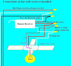 hunter fan wiring diagram bay ceiling fan wiring diagram with remote how to install bay ceiling