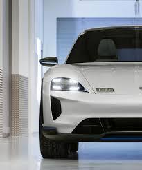 Porsche Presents The Mission E Cross Turismo Electric Car In Switzerland