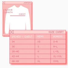 Uk Tops Size Chart Size Guide Rokit Vintage Clothing