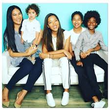 simmons kids. kimora lee leissner along with her children: wolfe leissner, ming simmons, aoki and kenzo hounsou. simmons kids
