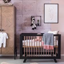 top baby furniture brands. HARPER WOODEN BABY COT In Black Top Baby Furniture Brands B
