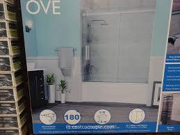 Ove Decors Shower Doors Ove Decors 60 Inch Premium Rolling Tub Door