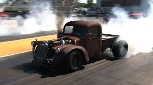 turbo cummins diesel rat rod truck drag week 2015 youtube
