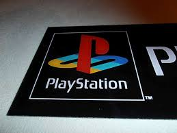 sony playstation 1 logo. playstation 1 logo psc banner signboard for collectors best buy sony