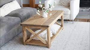 Create the ideal setting with studio henk's design tables. 40 Farmhouse Coffee Table Easy To Build Anawhite Youtube