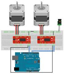 control two stepper motors one arduino arduino control two stepper motors one arduino