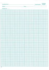 Graph Paper Small Component Specific Materials For Use In The Exam Room What