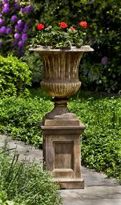 smithsonian clical urn with barnett pedestal metairie