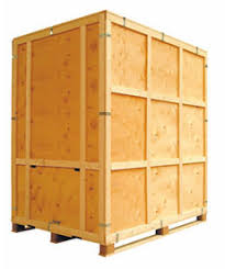 wooden storage containers. Standard Klimped Warehouse Container Specification And Wooden Storage Containers Rowlinson Packaging
