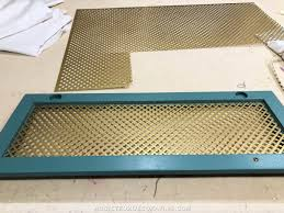 How To Add Wire Mesh Grille Inserts To Cabinet Doors The Easy And