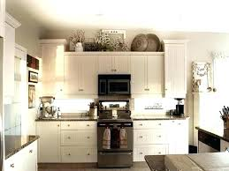 decorating above kitchen cabinets. Decorating Ideas For Above Kitchen Cabinets  Unanswered Concerns About Cabinet .