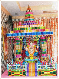 interior design top decoration themes for ganesh festival nice