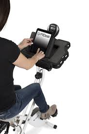 built in tablet holder with storage space underneath on fitdesk 3 0