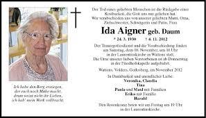 Traueranzeigen Tiroler Tageszeitung Online
