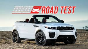 2017 Range Rover Evoque Convertible | Road Test - YouTube