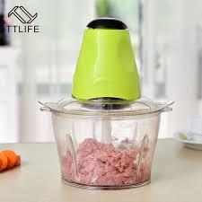 <b>TTLIFE Multi-function</b> Household Meat Grinder Vegetable Chopper ...