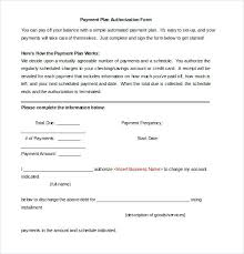 Payment Authorization Form Template Letter – Findspeed