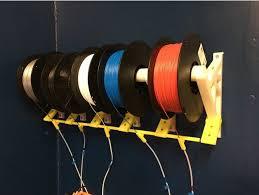 prusa mmu2 wall mount spool holder by