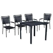 square outdoor dining table modern contemporary black 5 piece metal square outdoor dining set with slatted square outdoor dining table