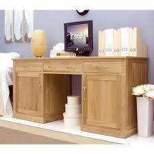 picture mobel oak large hidden office. Mobel Oak Large Hidden Office Twin Pedestal Desk COR06D Picture