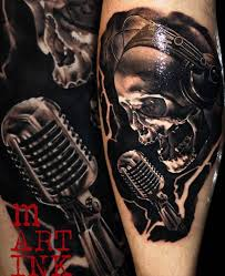 51 Creative Music Tattoos For The Music Lover In You