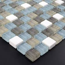 cream stone glass mosaic tile square tiles with marble tile backsplash wall stickers sg131