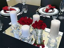 Red And White Table Decorations Unique Silver  With Xecc.co