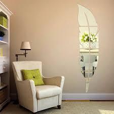 Großhandel Schöne Feder Form Wandaufkleber Home Schlafzimmer
