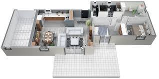 Plan Maison Moderne Plain Pied 3 Chambres Wi75 Jornalagora