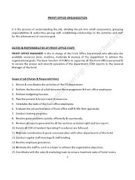 Housekeeping Department Functional Chart Housekeeping Department Function Chart 2019