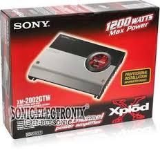 sony xm 2002gtw xm2002gtw 1200w max 2 1 channel amplifier product sony xm 2002gtw