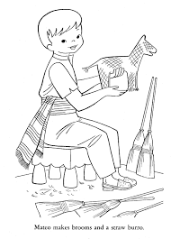 Mexico Coloring Pages - coloringsuite.com