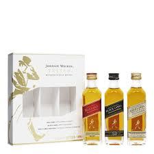 johnnie walker taster 3x5cl miniature gift pack