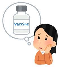 いろいろなワクチンの心配をする人のイラスト   かわいいフリー素材集 ...