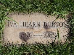 Iva Hearn Burton (1896-1989) - Find A Grave Memorial