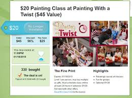 painting with a twist gift certificate