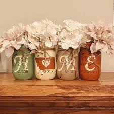 How To Decorate Canning Jars Awesome Decorating Mason Jars Images Trend Ideas 100 65