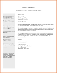 Modern Proper Business Letter Format Pattern - Resume Ideas - Bayaar ...