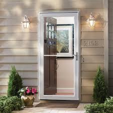 Storm Door Design Ideas Exterior Emco Storm Door For Inspiring Front Door Design