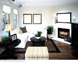 contemporary living room with corner fireplace. Corner Fireplace Ideas Modern Decor Living Room Decorative With . Contemporary