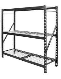 edsal 77 w x 72 h x 24 d 3 shelf metal