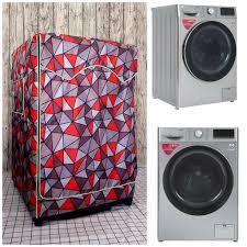 Vải dù xịn không nổ vỏ] Áo Trùm Máy Giặt Cửa Trước dành cho Máy giặt LG  Inverter 9 kg (Cao 85 - Ngang 60- Sâu 63 cm) chính hãng 180,000đ