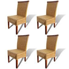 Der vidaXL Esszimmerstühle 4 Stk. Rattan Braun online shop | vidaXL.de