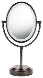 conair double sided lighted mirror