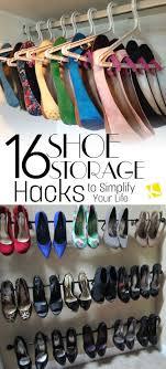 Shoe Organization Best 25 Shoe Storage Ideas Only On Pinterest Diy Shoe Storage