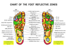 Left Foot Organ Chart Foot Massage An Easy Way To Promote Your Health Jointup