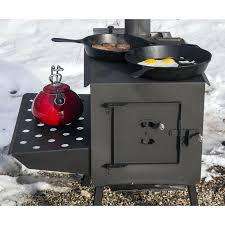 grizzly portable camp wood stove reviews works grizzly wood stove