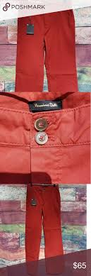 Nwt Massimo Dutti Ladies Pants Red Size 8 New With
