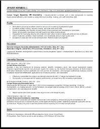 Hr Analyst Resume Sample