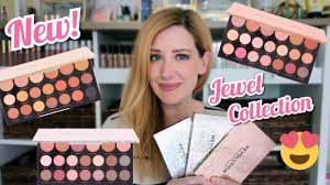 makeup revolution jewel collection eyeshadow palette review